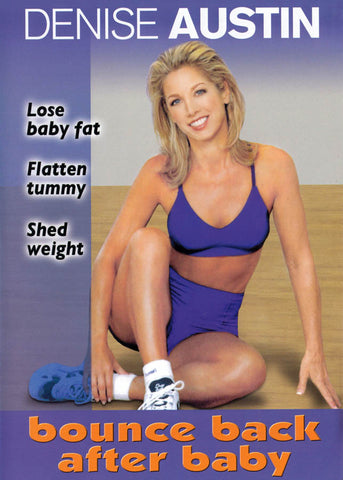 Denise Austin - Bounce Back After Baby DVD Film