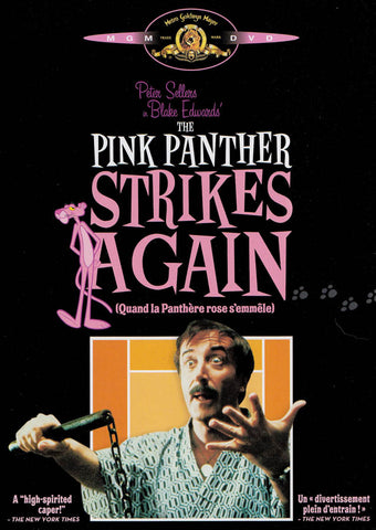 The Pink Panther Strikes Again (Black Cover) (Bilingual) (MGM) DVD Movie