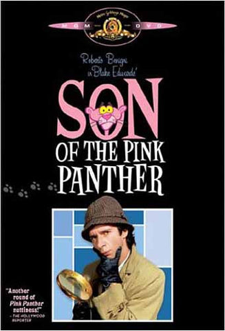 Son of The Pink Panther (couverture noire) DVD Movie