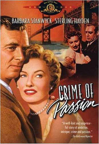 Crime Of Passion (Barbara Stanwyck) (MGM) DVD Film