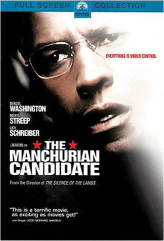 The Manchurian Candidate - Full Screen Collection (Denzel Washington) DVD Movie