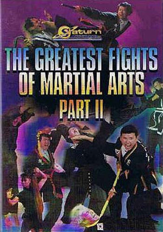 Les plus grands combats d'arts martiaux partie II DVD Movie