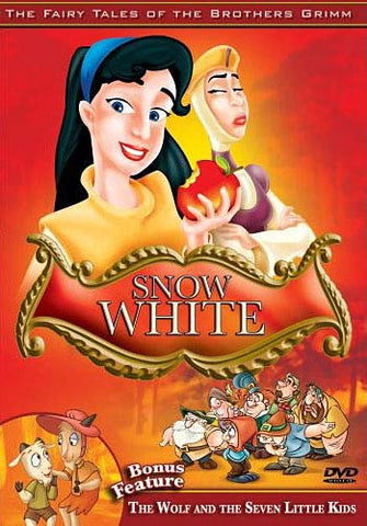 Snow White/The Wolf and the Seven Little Kids - The Brothers Grimm DVD Movie