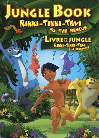 Jungle Book - Rikki - Tikki - Tavi to the Rescue (Bilingual) DVD Movie