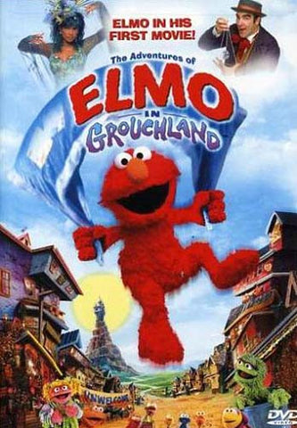 The Adventures of Elmo in Grouchland - (Sesame Street) DVD Movie