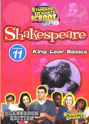 Standard Deviants School - Shakespeare - Program 11 - King Lear Basics (Classroom Edition) DVD Movie