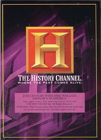 20th Century with Mike Wallace - Hispanics in America (History Channel) DVD Movie