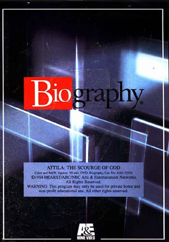 Attila - The Scourge of God (Biography) DVD Movie