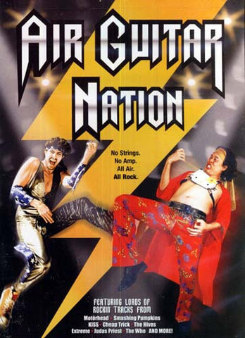 Air Guitar Nation DVD Movie