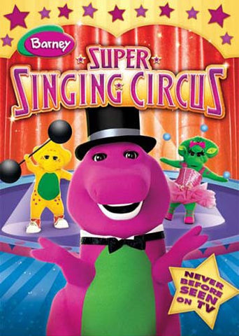 Barney - Barney's Super Singing Circus DVD Movie