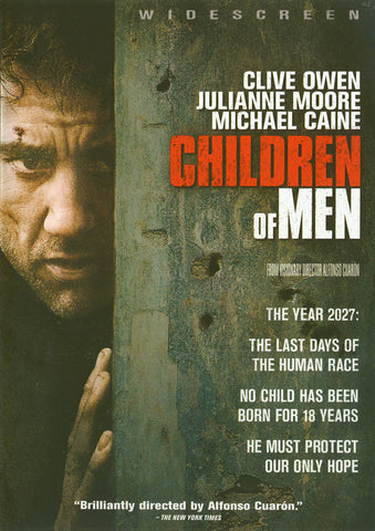 Children of Men (Widescreen) DVD Movie