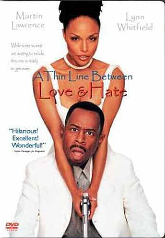 A Thin Line Between Love and Hate (Bilingual) DVD Movie