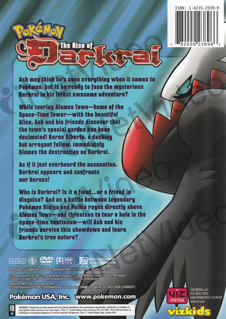movie pokemon the rise of darkrai