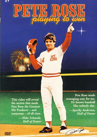 Pete Rose - Playing to Win DVD Movie