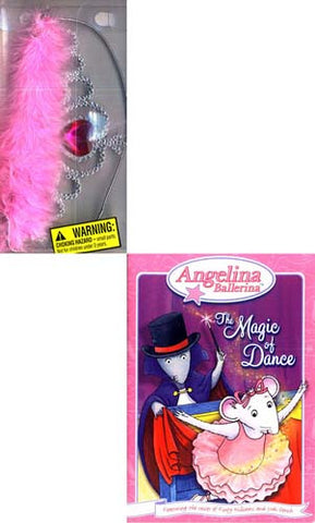 Angelina Ballerina - The Magic of Dance (With Bonus Tiara Crown) DVD Movie