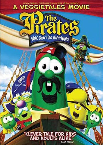 Pirates Who Don t Do Anything: A Veggie Tales Movie (Fullscreen) DVD Movie