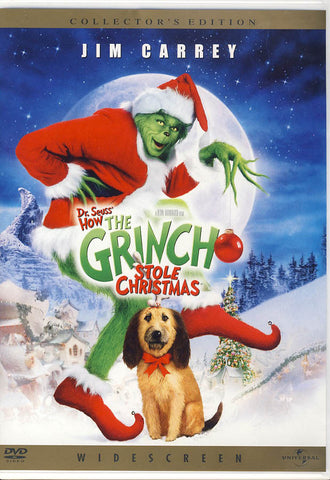 Dr. Seuss' How the Grinch Stole Christmas (Widescreen) (Collector's Edition) DVD Movie