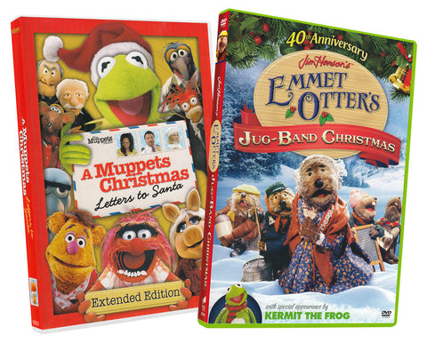 A Muppets Christmas - Letters to Santa / Emmet Otters Jug-Band Christmas (40th Anniversary) (2-pack) DVD Movie