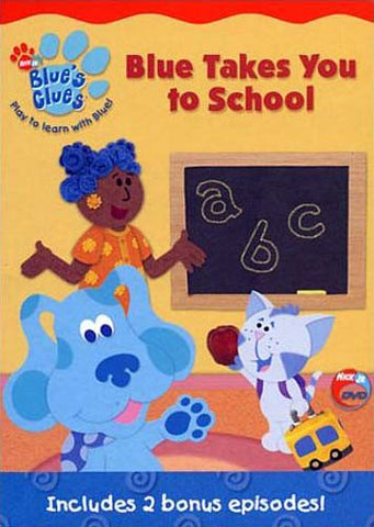 Blue's Clues - Blue Takes You to School DVD Movie