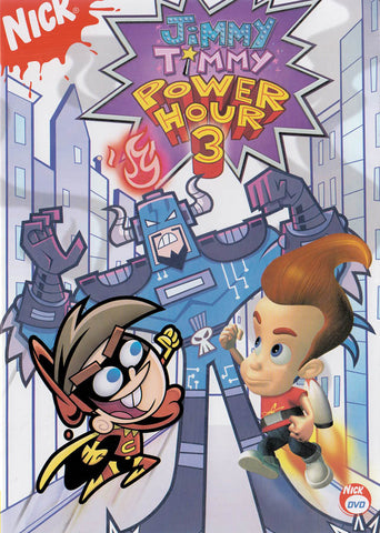 Jimmy Timmy Power Hour 3 DVD Movie