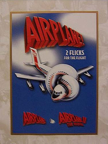 Airplane And Airplane 2 The Sequel DVD Movie