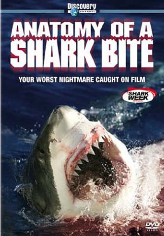 Anatomy of a Shark Bite - Discovery Channel DVD Movie