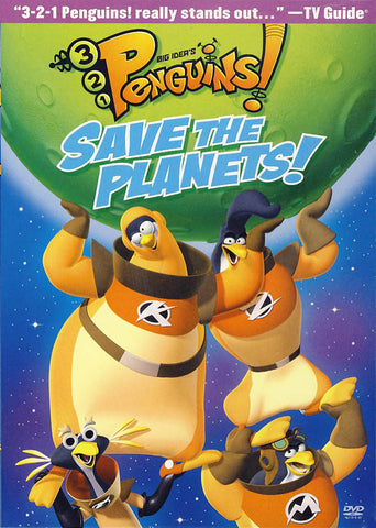 3-2-1 Penguins - Save The Planets! DVD Movie
