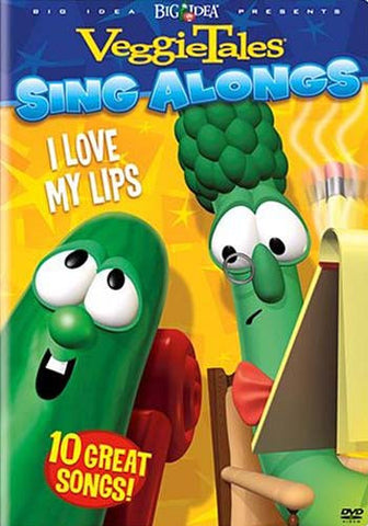VeggieTales Sing Alongs - I Love My Lips DVD Movie