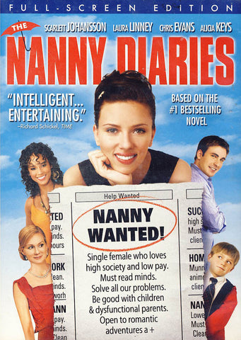 The Nanny Diaries (édition plein écran) DVD Movie