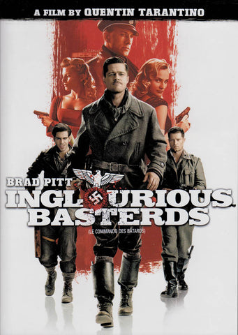 Inglourious Basterds (Single Disc) (Bilingual) DVD Movie