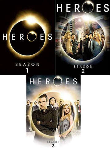 Heroes - Season DVD 1 / 2 / 3 (Pack 3) (Boxset)