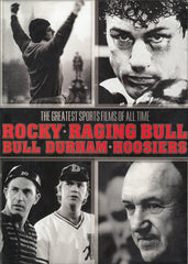 The Greatest Sports Films All Time - (Bull Durham / Hoosiers / Raging Bull / Rocky) (Boxset)