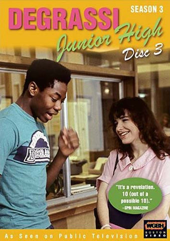 Degrassi Junior High - Saison 3, Disc 3 DVD Film