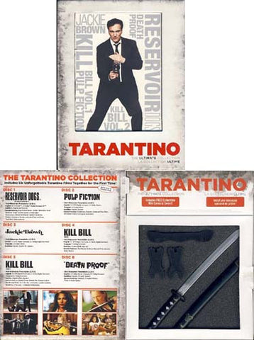 Quentin Tarantino - La Collection Ultime (Boxset) (Bilingue) DVD Film