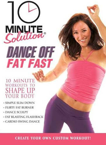 10 Minute Solution - Film DVD Dance Off Fat Fast