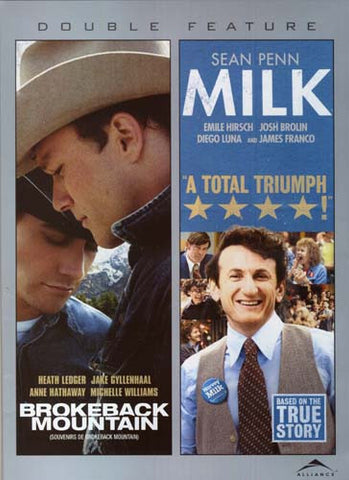Brokeback Mountain/Milk (Widescreen) (Double Feature) (Bilingual) DVD Movie