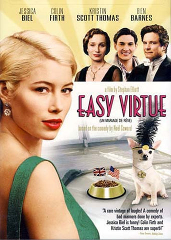Easy Virtue (Bilingue) DVD Film