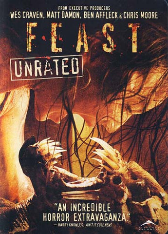 Feast (Unrated Edition) DVD Film