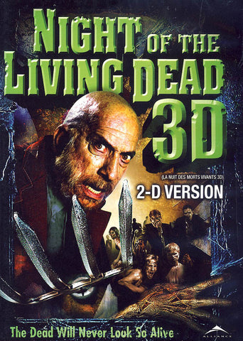 La Nuit Des Morts Vivants 3D (Jeff Broadstreet) (Version 2-D) (Bilingue) DVD Film