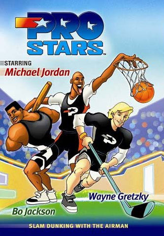 Pro Stars - Slam Dunking With the Air Man DVD Movie