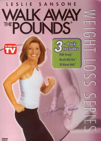 Leslie Sansone - Walk Away the Pounds - Série de perte de poids - Film DVD (coffret) 3-Pack