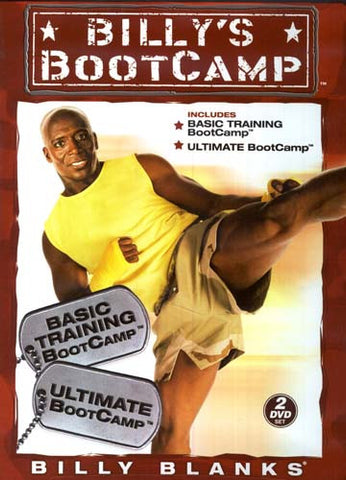 Billy's Bootcamp - Basic Training Bootcamp/Ultimate Bootcamp DVD Movie