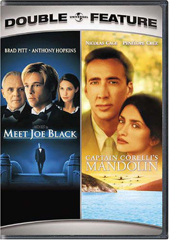 Rencontrez Joe Black / Captain Corelli's Mandolin (Double Feature) DVD Movie