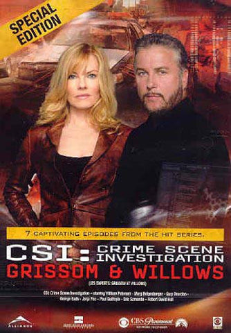 CSI - Enquête sur la scène de crime - Grissom And Willows (Édition spéciale) (Bilingue) DVD Movie