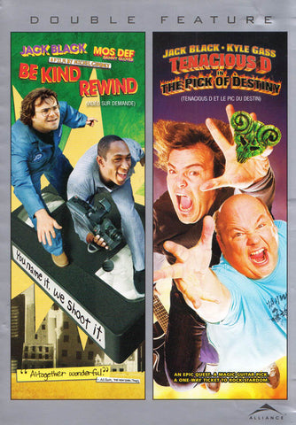 Be Kind Rewind / Tenacious D dans Le Choix du destin (Double long métrage) (Bilingue) DVD Film