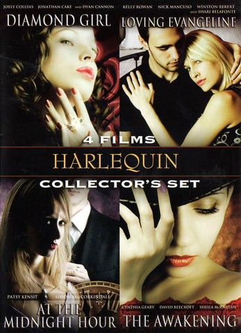 Harlequin Collector's Set-Diamond Girl / Loving Evangeline / At The Midnight Hour / The Awakening (Vol.2) DVD Movie
