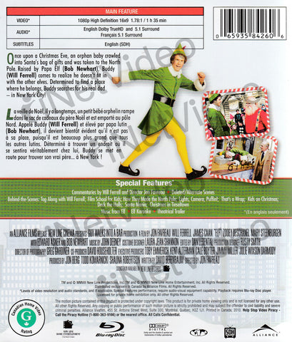 Elf (Bilingue) (Blu-ray) Film BLU-RAY