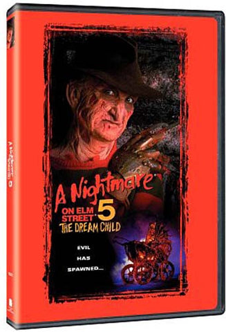 A Nightmare on Elm Street 5 - The Dream Child (Keepcase) (Widescreen/Fullscreen) DVD Movie