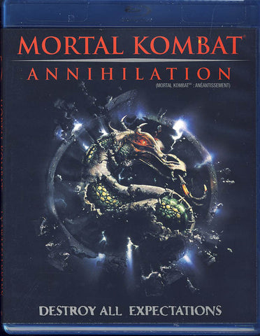 Mortal Kombat - Annihilation (Blu-ray) (Bilingue) Film BLU-RAY