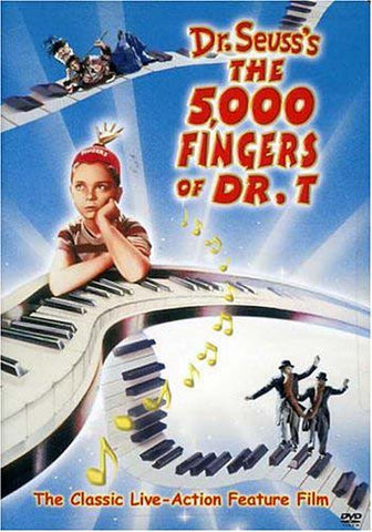 Dr Seuss's The 5,000 Fingers of Dr.T DVD Movie